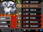 Pokemon Essentials BW2 Mod - Pokedex (GIF!)