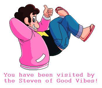 the Steven of Good Vibes