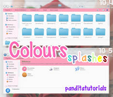 { ColoursSplashes - Iconpackager }