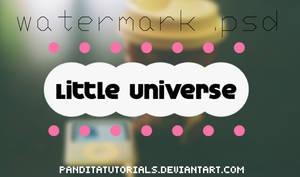 { WatermarkSweet .psd - LittleUniverse }