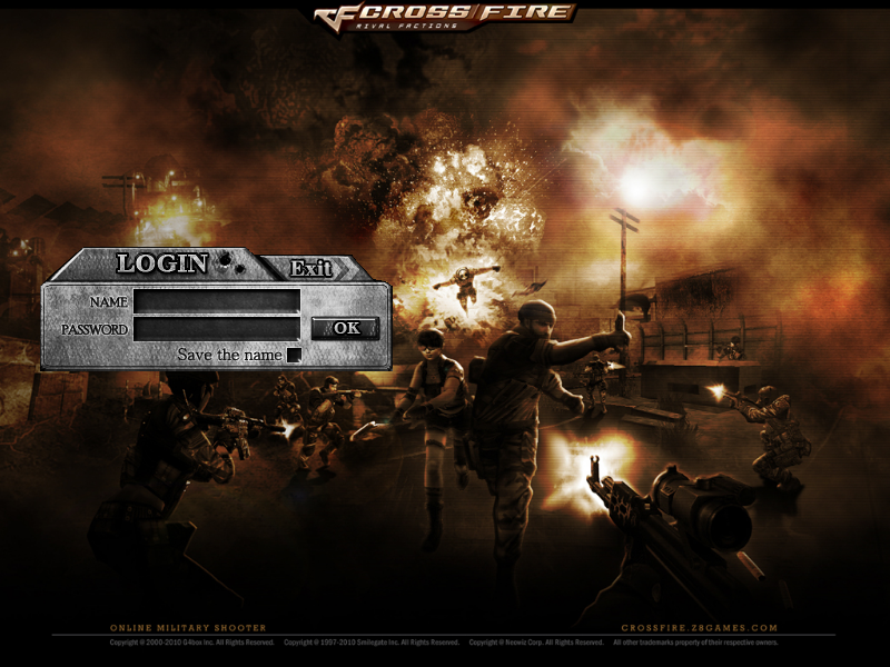 Crossfire Login Screen Mod by NotoriousRay