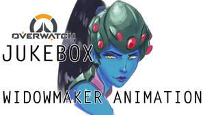 OVERWATCH - WIDOWMAKER ANIMATION by Jukeboix