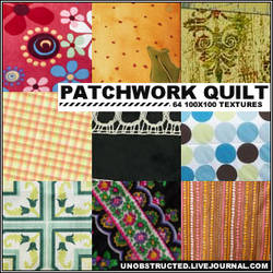 Patchwork Quilt by lynzieicons