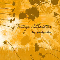Vintage Sillhouettes by muddypuddles