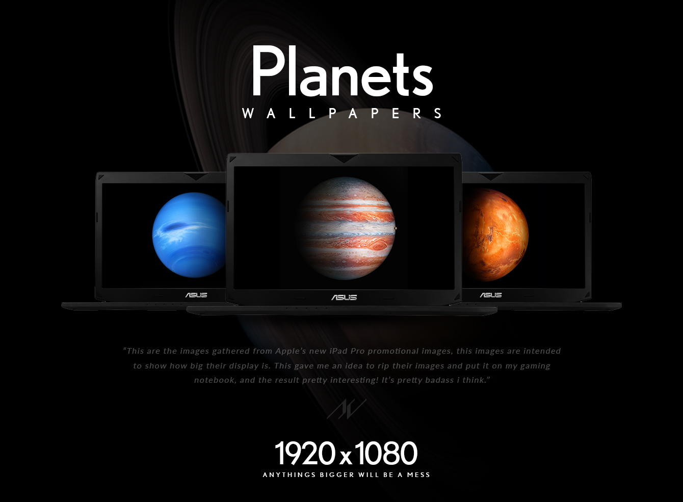Planet Wallpapers - iPad Pro's Images [iOS9]