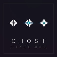 Destiny Ghost Insignia - Classic Shell Start Orb
