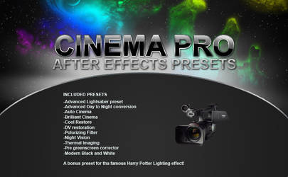 CINEMA PRO: After Effect