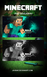 Minecraft PSD - Giveaway
