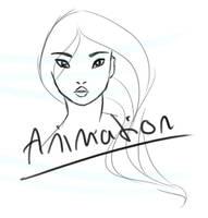 Pocahontas animation by bealor
