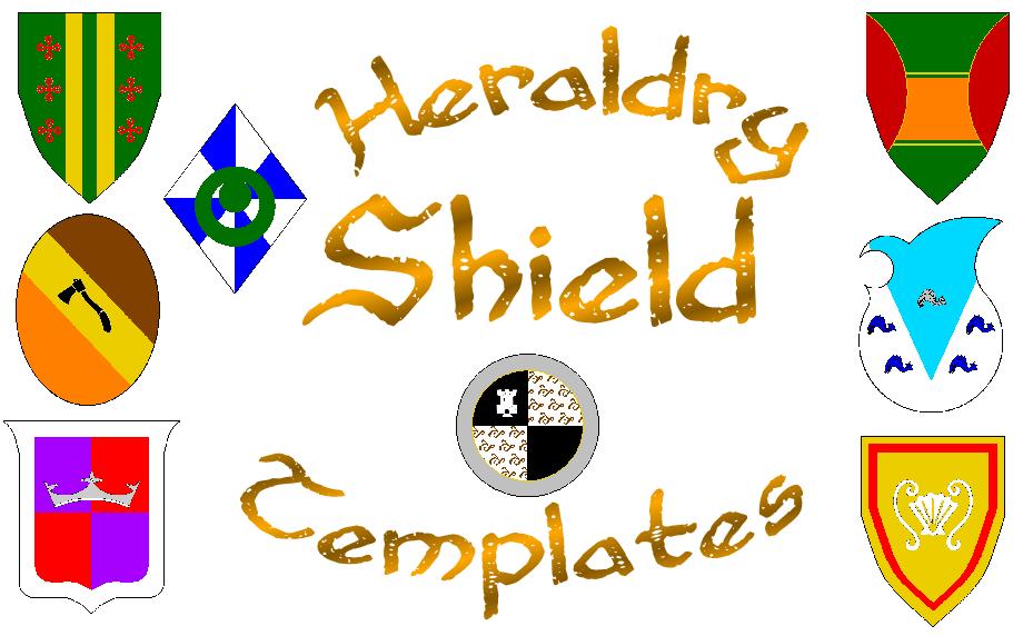 Heraldry Shield Templates by Kingda-Ka on DeviantArt