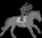 TB Racehorse Exercising Tack