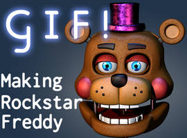 Making Of Rockstar Freddy/Lefty - [FNAF 6 Blender]