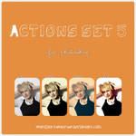 Actions set 5