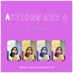 Actions set 6