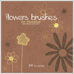Flowers brushes