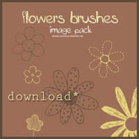 Image pack flowers brushes by stardixa-resources