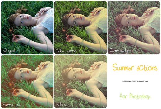 Summer actions