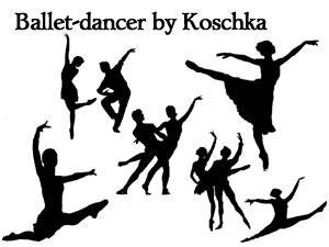 ballet dancer by Koschka