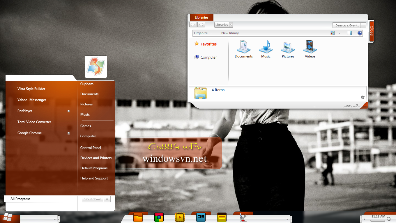 Luxury Vs for win7 by Cleodesktop