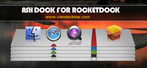 Ash Dock For Rocketdock