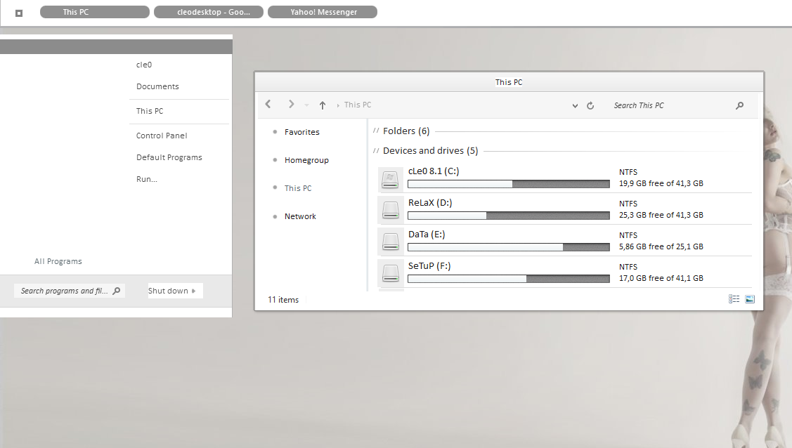 xZmN Theme For Win8/8.1
