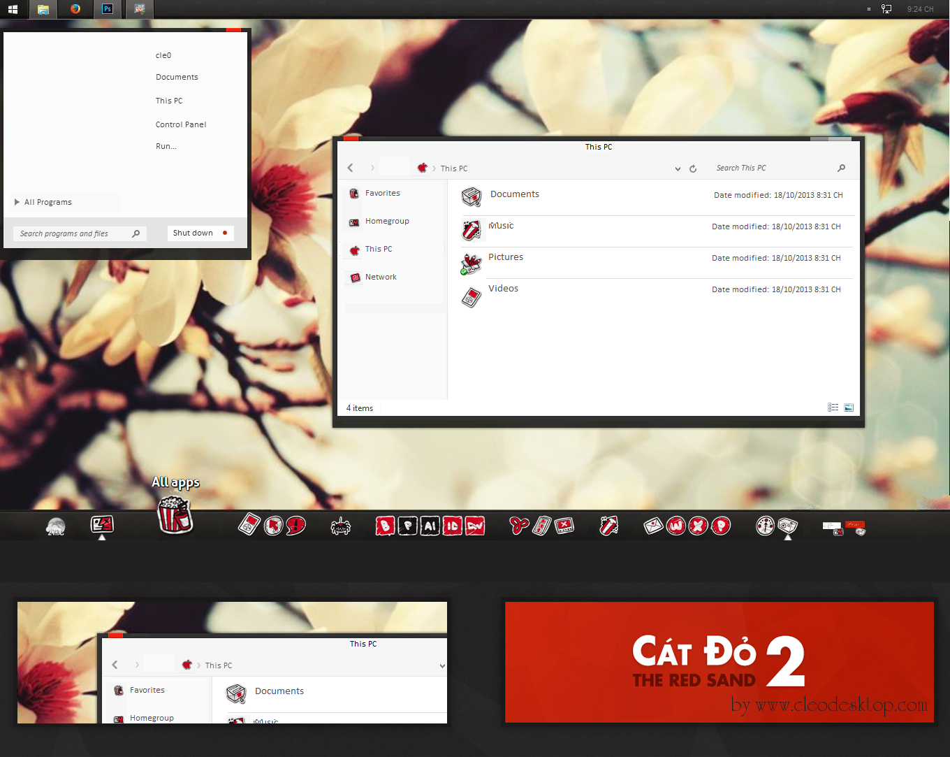 Catdo 2 Theme for win 8-8.1 by cu88