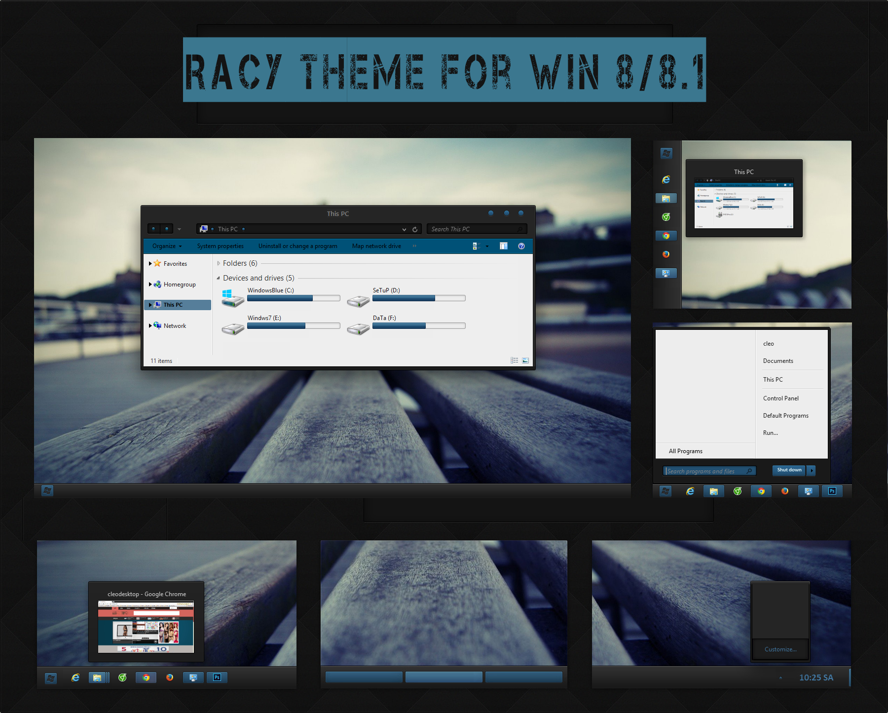 Racy Theme for Win8/8.1(Final Update) by cu88