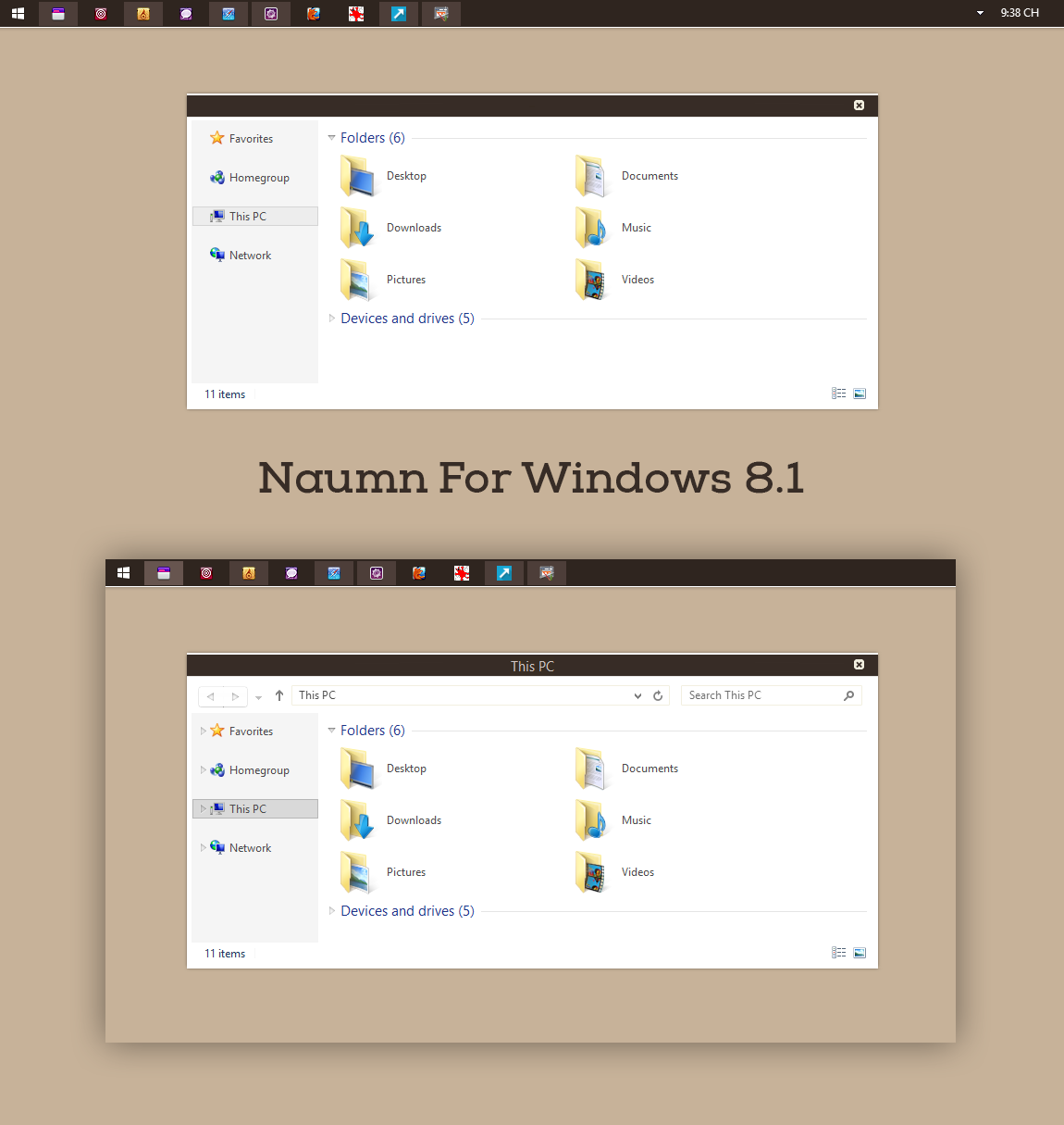 Naumn For Windows 8.1 by cu88