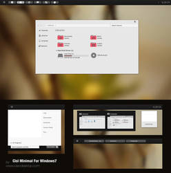 Cisl Theme for Win7 by Cleodesktop