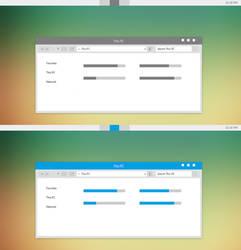 Grey-Blue ML Theme For Windows 8/8.1 by Cleodesktop