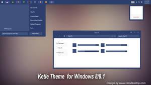 Ketle Theme For Windows 8/8.1