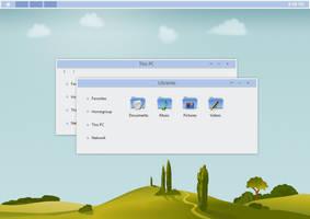 BLE Theme Windows 8.1 by Cleodesktop