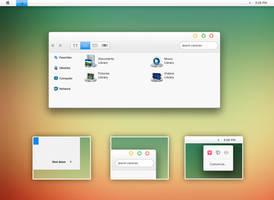 Parallax theme for Windows 7