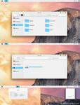 OS X Yosemite Theme Windows 8.1