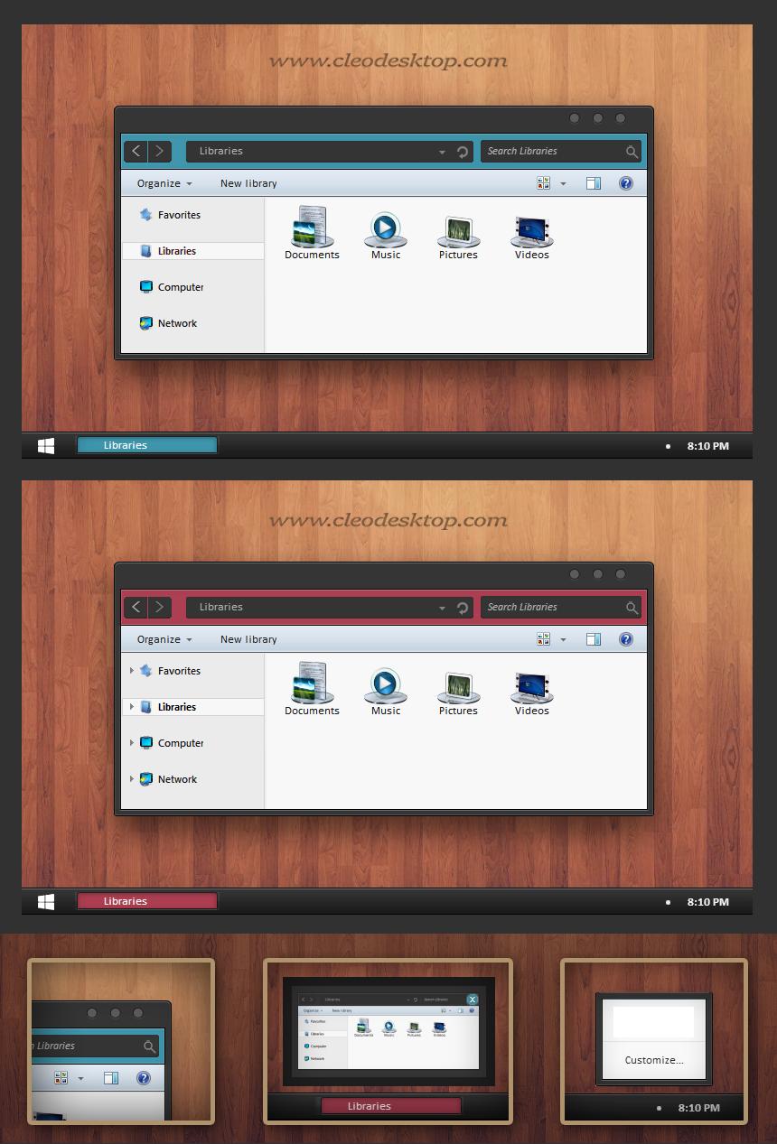 Ozano  Theme For Windows 7
