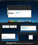 Deepin Theme Windows 8.1(Update)