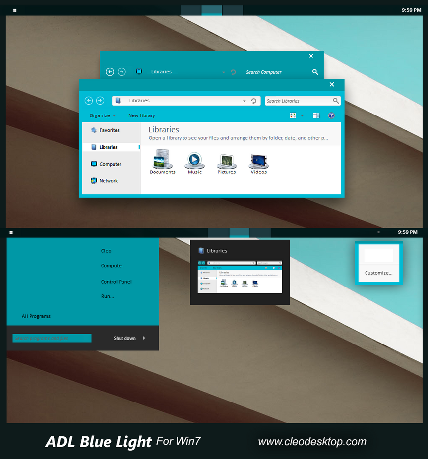 Android L theme for Win7/8/8.1