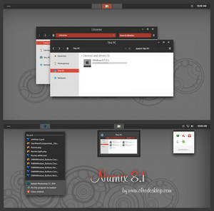 Numix Theme Windows 8.1(Updated)