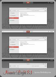 Numix-Light Theme Windows 8.1 by Cleodesktop