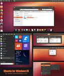 Ubuntu Theme Windows 10 Technical Preview