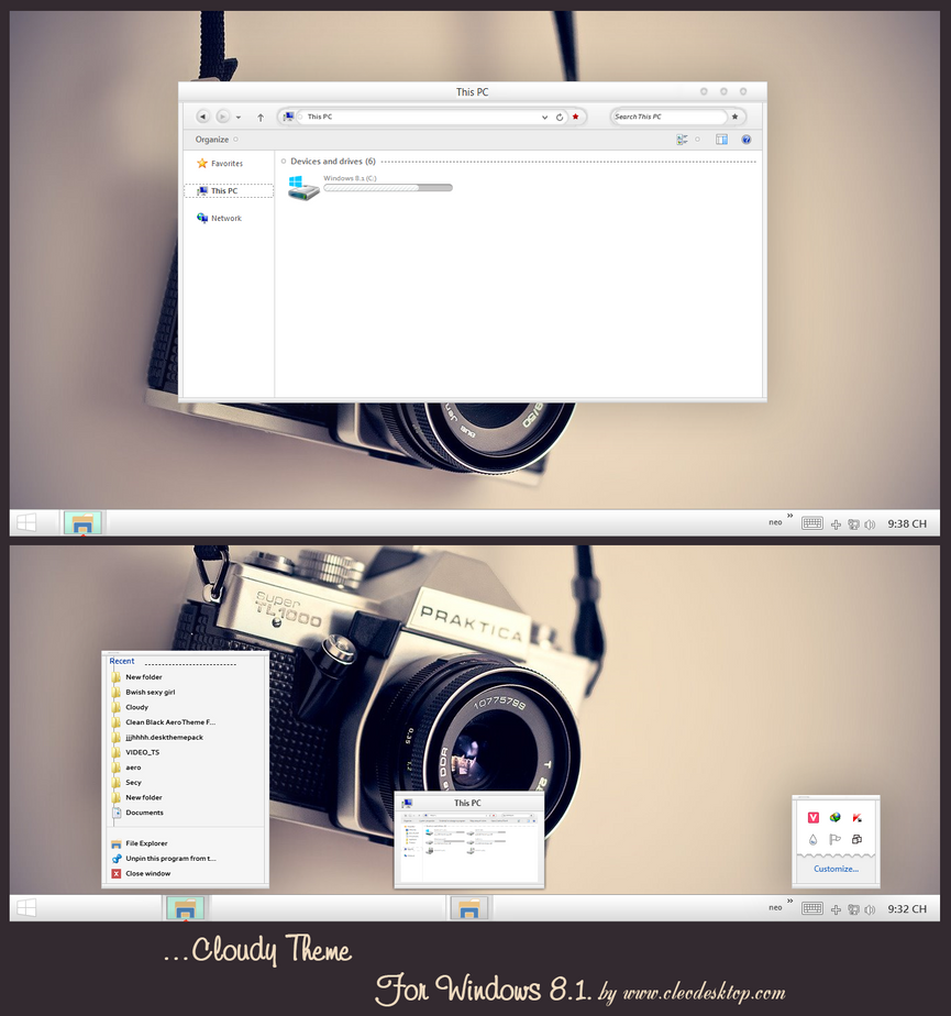 Office 2010 theme for Win7/8.1