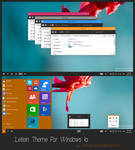 Letein Theme For Windows 10 Technical Preview
