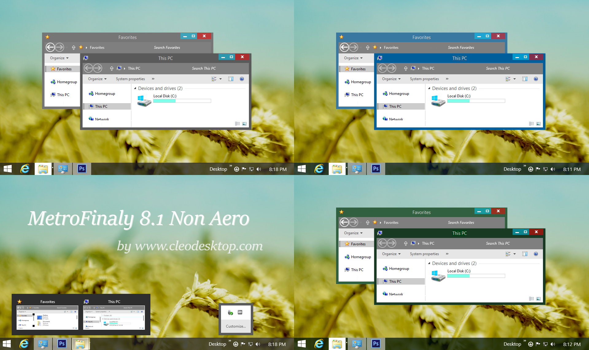 Metrofinaty2 Theme Windows 8.1