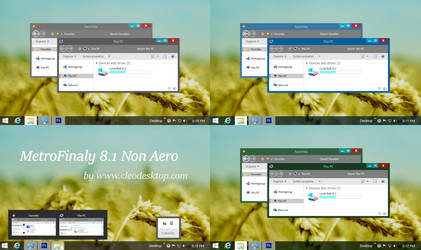 Metrofinaty2 Theme Windows 8.1 by Cleodesktop