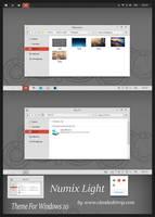 Numix-Light Theme Windows 10 by Cleodesktop