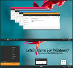 Letein Theme For Windows 7