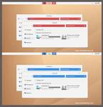Bel Minimal R and B Theme Windows 8.1