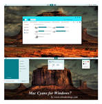 Mac Cyans  theme for Windows 7