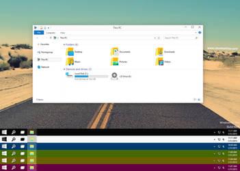 Windows10 TP 9926 (Color Full) Windows 8.1 by Cleodesktop