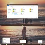 Windows10 TP Black Aero Theme Windows 8.1